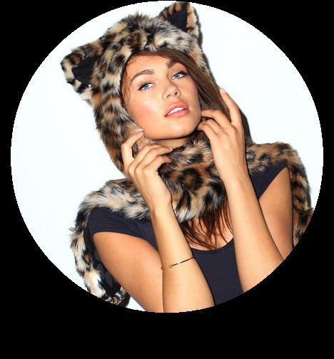 Leopard SpiritHood