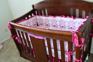 Caden Lane Sophie Luxe 4 Piece Baby Crib Girl Bedding Review