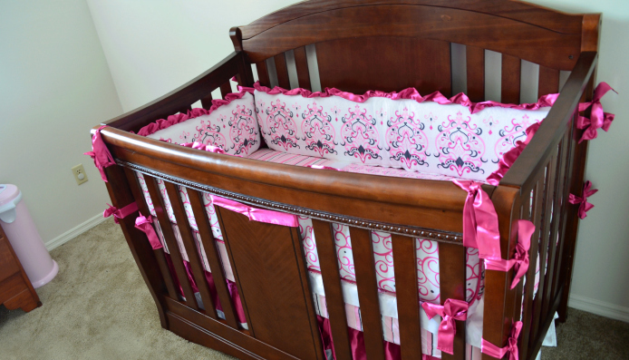 Caden Lane Sophie Luxe 4 Piece Baby Crib Girl Bedding Review