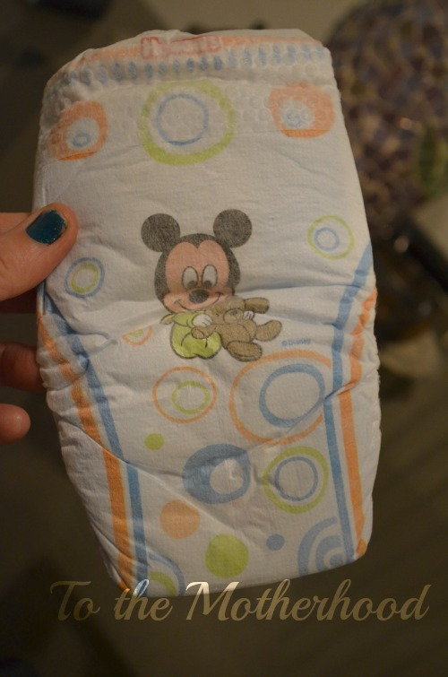 Baby Mickey Mouse - Huggies Snug and Dry