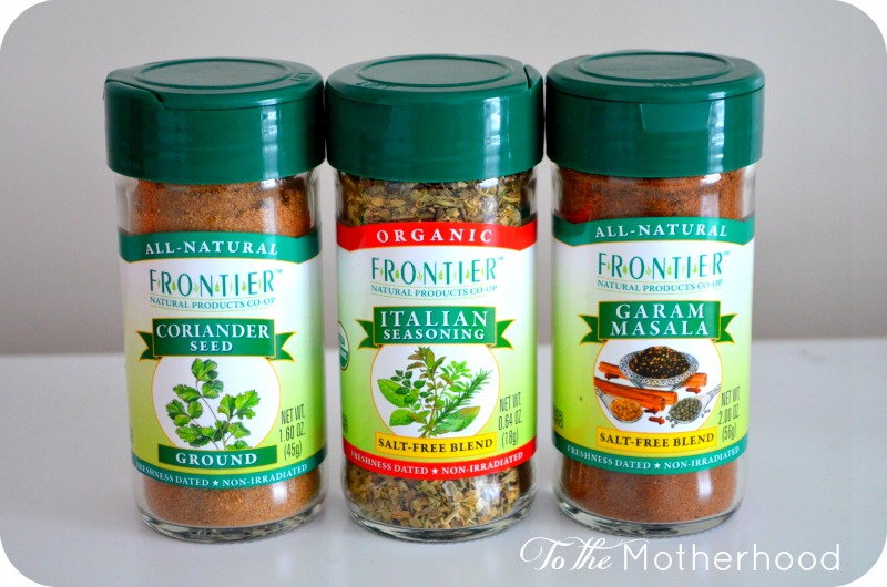 Frontier Spices Vitacost is Spicing Things Up with Their New Spice Store