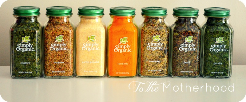 Simply Organic Spices Vitacost is Spicing Things Up with Their New Spice Store