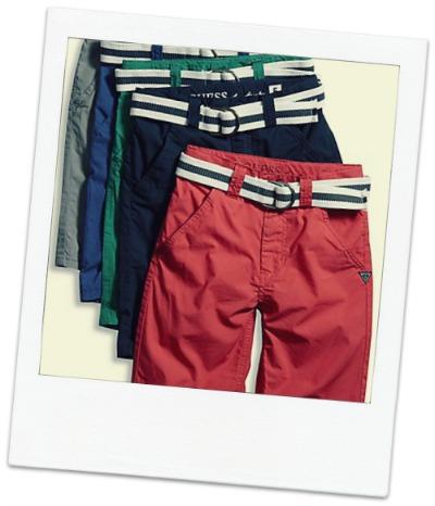Big Boy Flat Front Belted Shorts $39.50