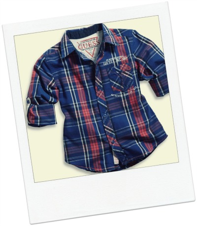 Big Boy Long-Sleeve Michael Plaid Shirt $42.50