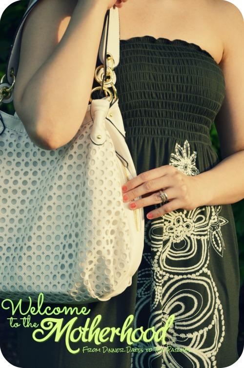 Plum Women's Richmond Double Strap Zipper Closure Tote Handbag