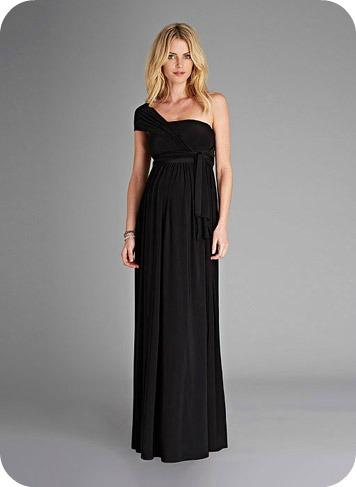 The Wrap Maternity Maxi Dress $299