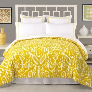Trina Turk Ikat Comforter 3 Piece Set $200