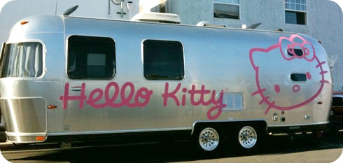 hello kitty rv camper