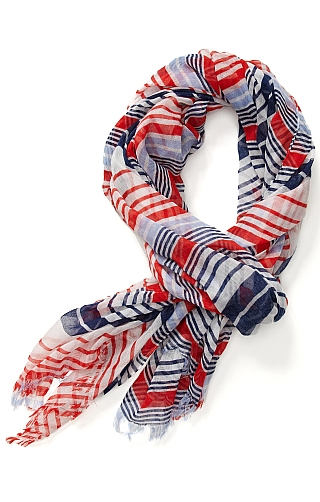 Multi Stripe Scarf $29.50