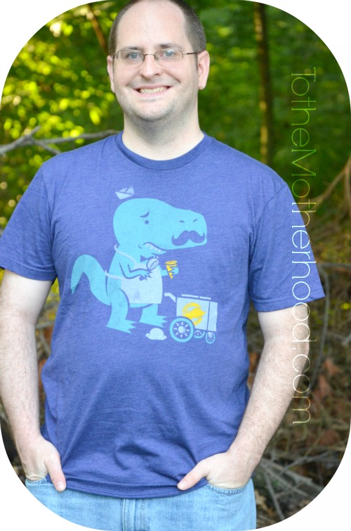 Fuzzy Ink Dino Tee