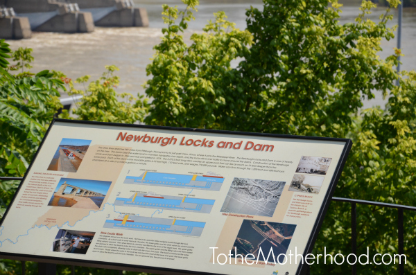 Locks and Dam in Newburgh Indiana