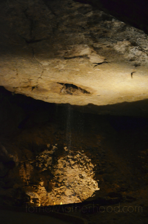 Marengo Cave Waterfall