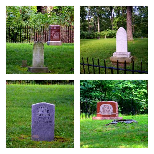 Pioneer Cemetery II - Susanna Morris,  Mary E. Rhodes, Susanna Morris