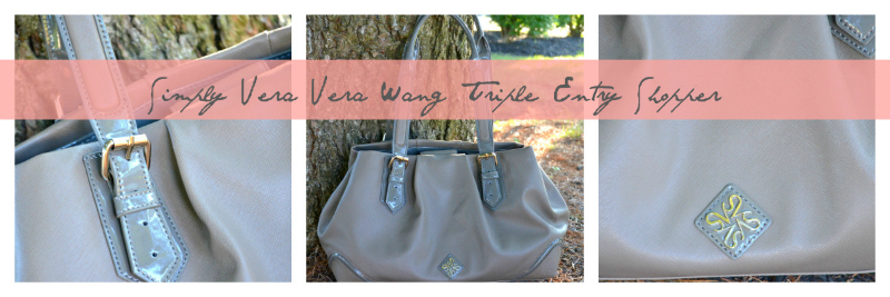 Simply Vera Vera Wang Triple Entry Shopper II