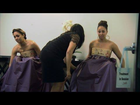 Tia and Tamera V-Steam Spa Treatment