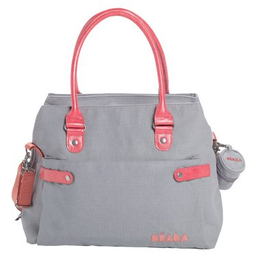 Beaba Stockholm Diaper Bag  $109.95 Available in Grey or Beige