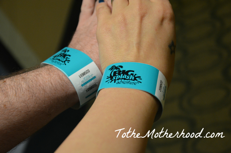 Big Splash Adventure Wristband