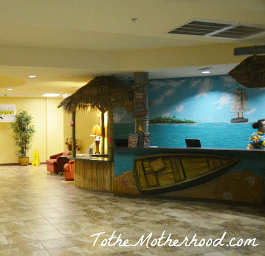 Front Desk at Big Splash Adventure Indoor Water Park & Resort