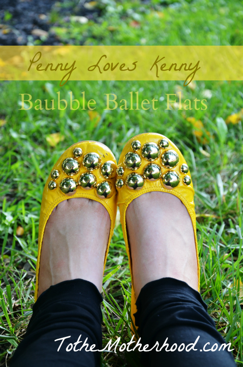 Penny Loves Kenny Baubble Ballet Flats