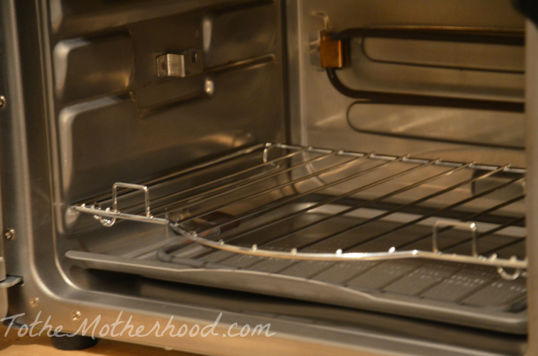 Closer Look of the Wolfgang Puck Oven