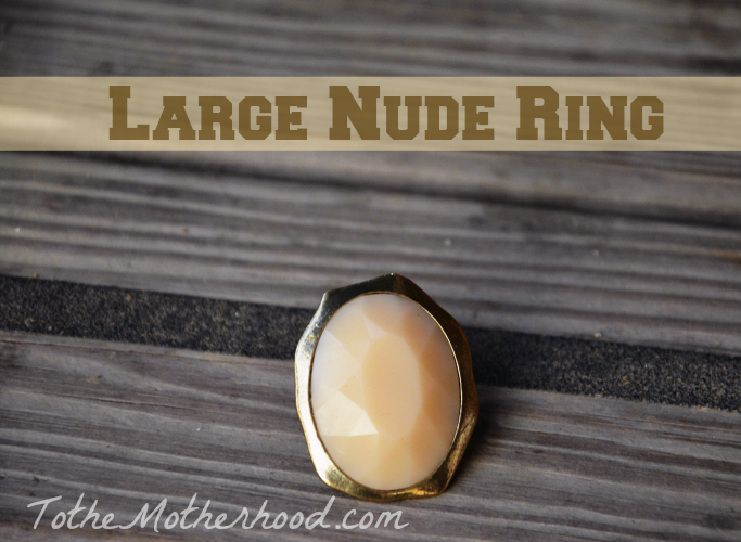 Large Nude Ring