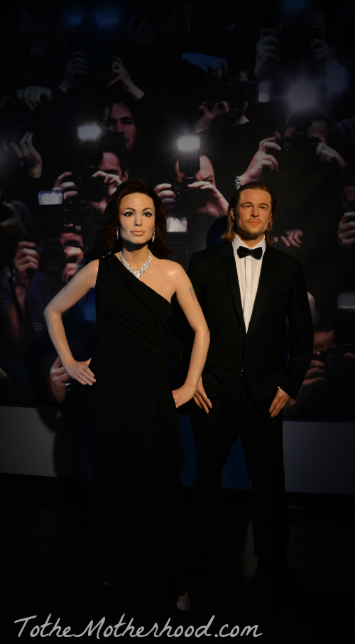 Angelina Jolie and Brad Pitt Hollywood Wax Museum