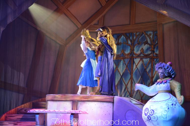 Beauty and the Beast at Disney Live Three Classic Fairytales