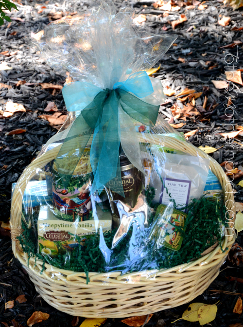 Celestial Seasonings Gift Basket