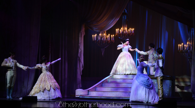 Disney Princesses at Disney Live Three Classic Fairytales