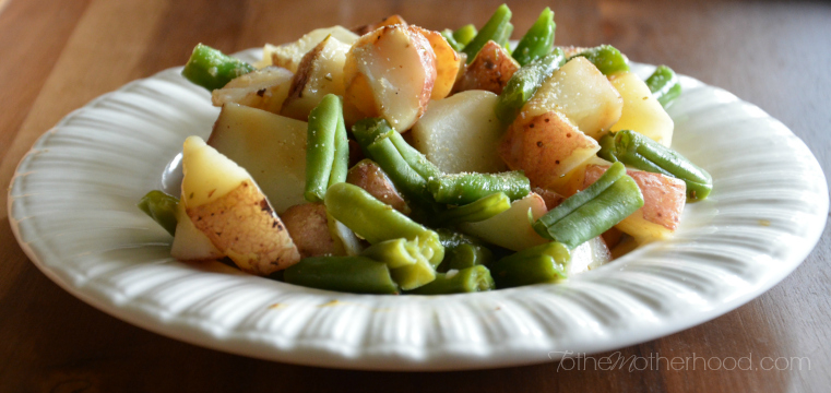 Green Giant Roasted Red Potatoes Green Beans Rosemary Butter Sauce