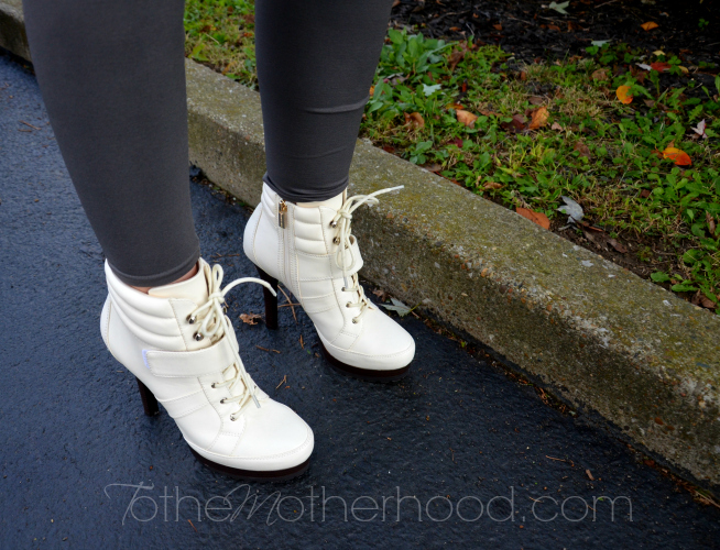 Jennifer Lopez Lace Up Booties  Rockin Out in Rock & Republic and Jennifer Lopez from Kohls