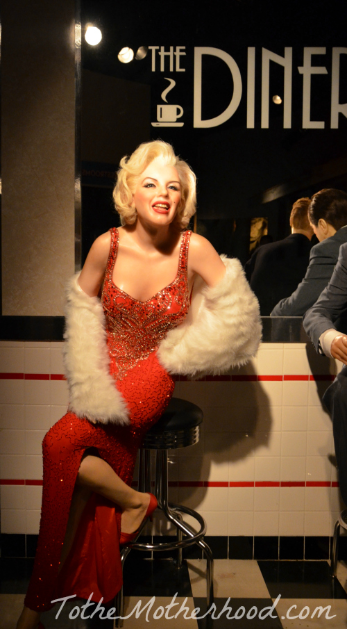 Marilyn Monroe Wax Figure at Hollywood Wax Museum Hollywood Wax Museum