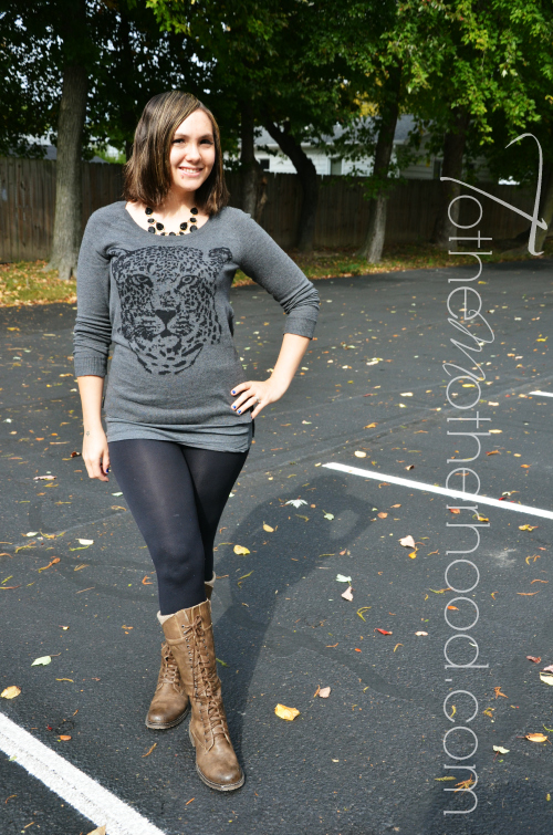 Rock and Republic Tiger Embellished Sweater  Rockin Out in Rock & Republic and Jennifer Lopez from Kohls