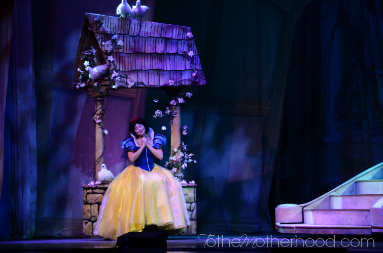 Snow White at Disney Live Three Classic Fairytales