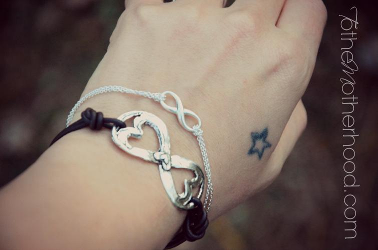 Double Infinity Bracelets