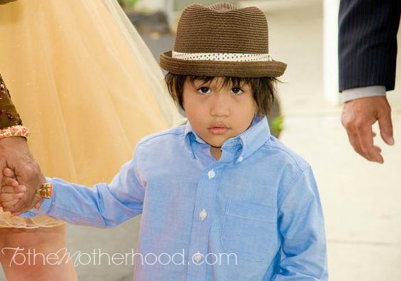 My Son, Circa August 2010