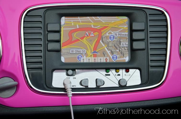 MP3 Player Hookup Kid Trax VW Beetle Convertible