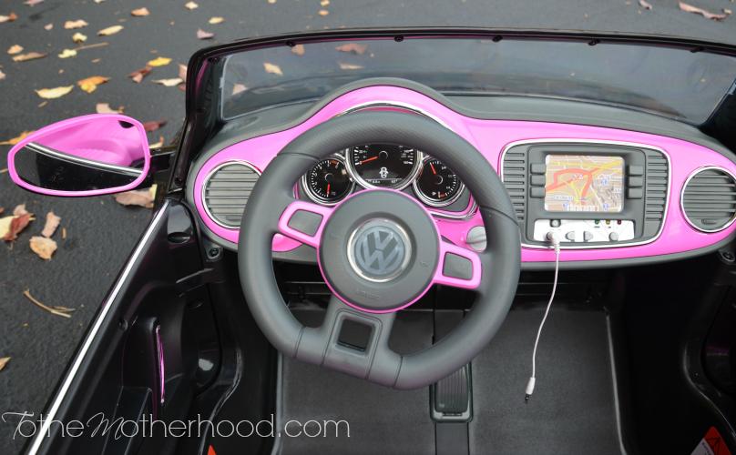Steering Wheel Kid Trax VW Beetle Convertible