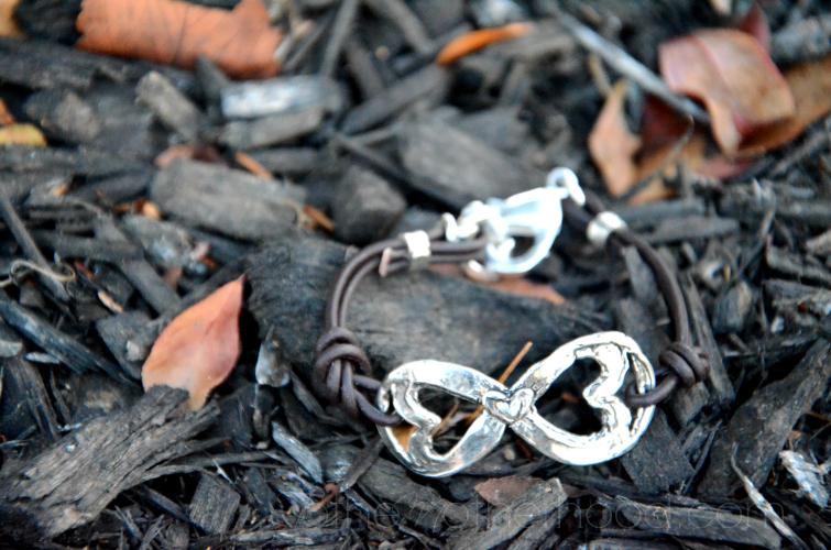 Island Cowgirl Infinity Bracelet