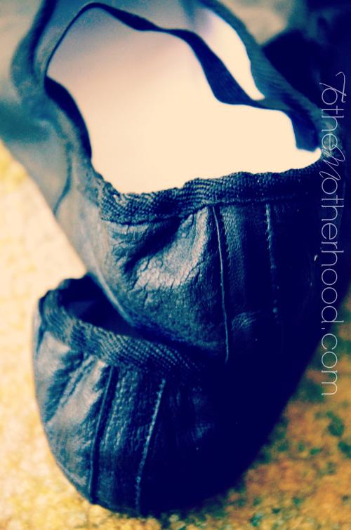 Linge Ballet Flats in Black