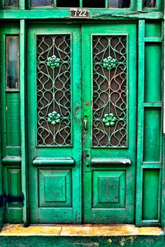 Beautiful Green Door