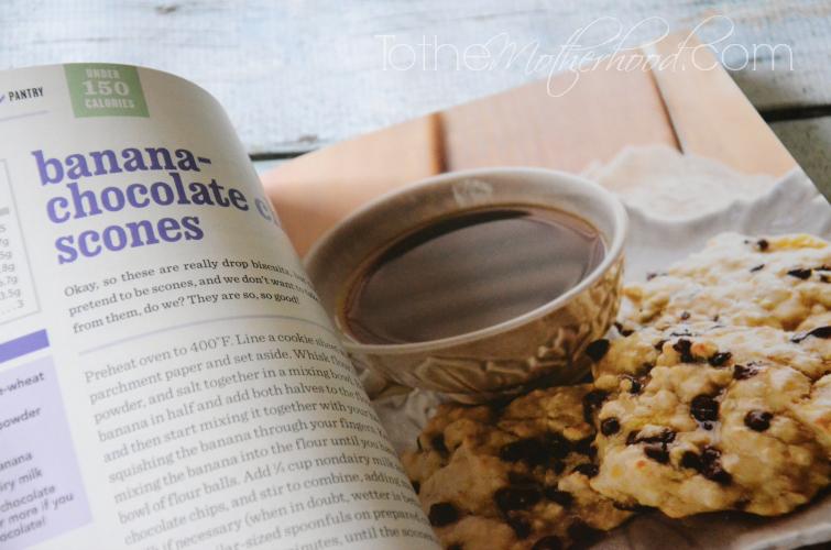 Banana Chocolate Chip Scones