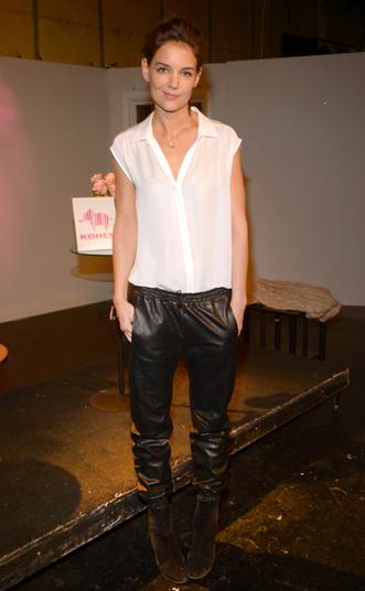Katie Holmes II Kohls Pink Elephant Campaign
