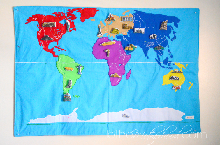 Precious Little Things World Map
