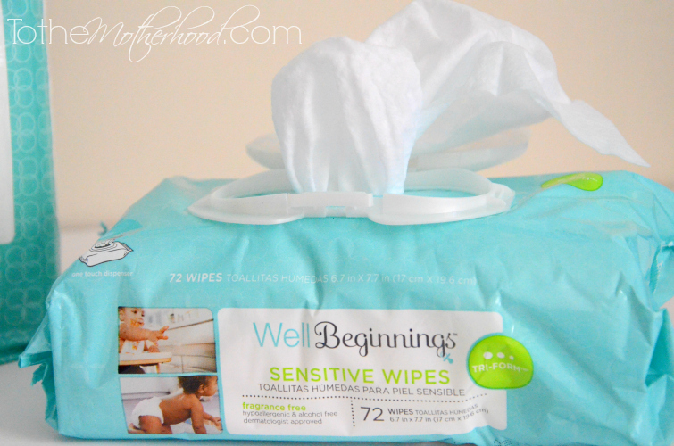 Well Beginnings Sensitive Wipes
