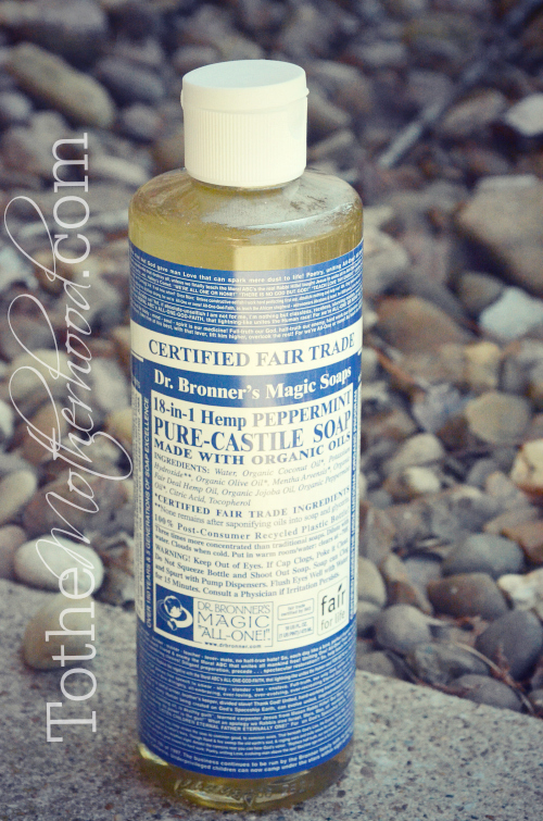 Dr Bronners Magic Soap Peppermint Pure Castile Soap with Organic Oils