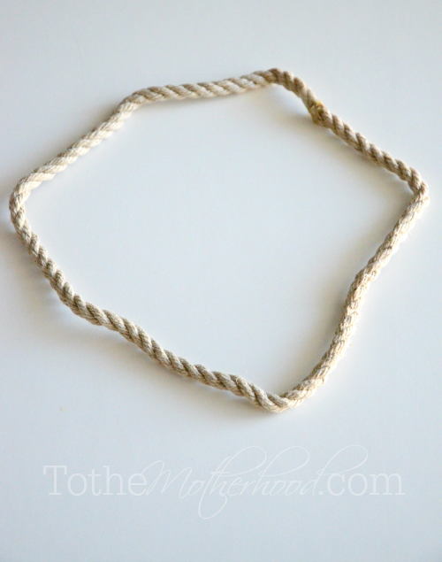 Hemp Rope for Hair Crown