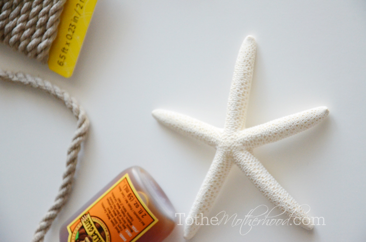 Starfish for Hair Crown