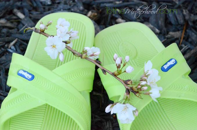 Bokos Sandals in Green Apple