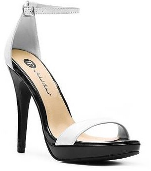 Michael Antonio Lovina Color Block Sandal, $39.95